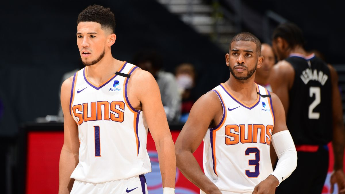 NBA Playoff Odds: The Phoenix Suns' 2021 Title Chances article feature image