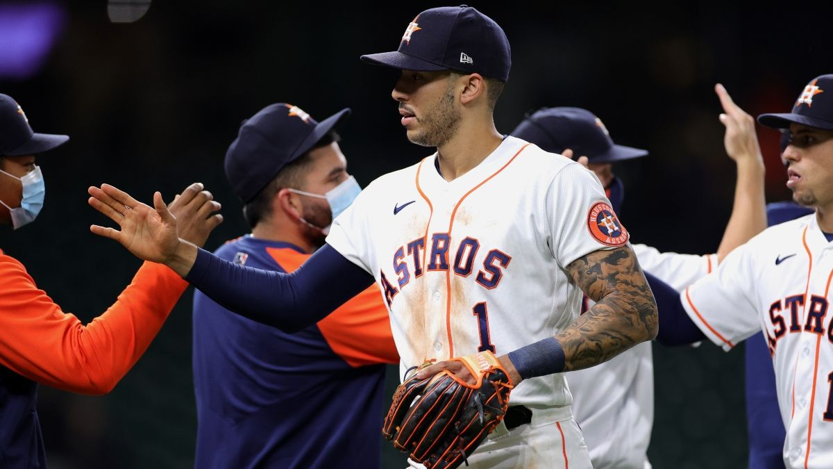 Angels vs. Astros MLB Odds & Picks: Big Money Siding With Houston (April 23) article feature image