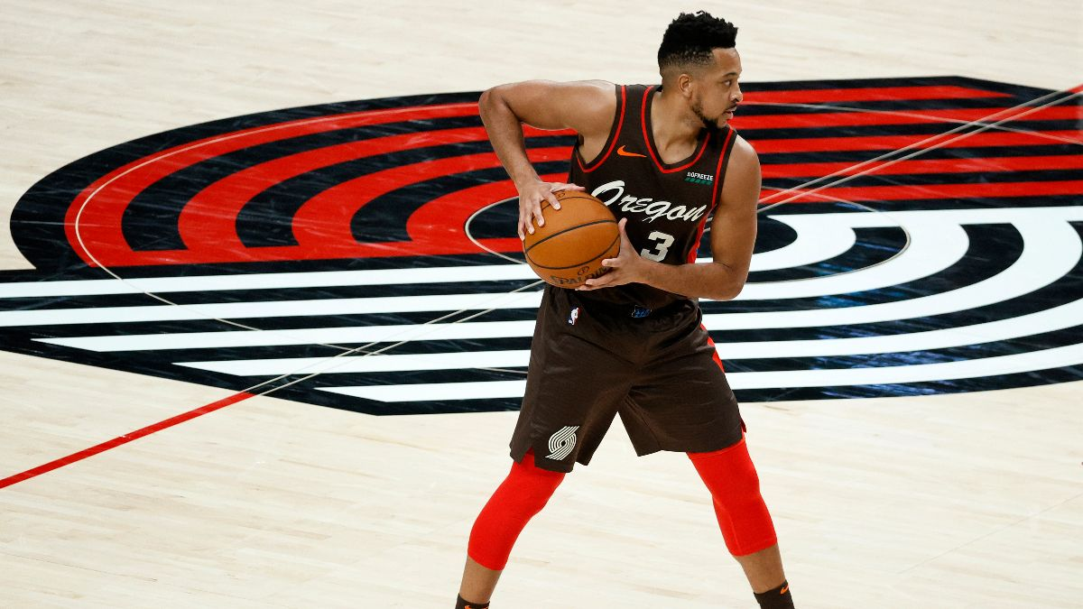 Tuesday's NBA Player Prop Bets, Picks: Buy CJ McCollum's Hot Shooting to Continue (April 6) article feature image