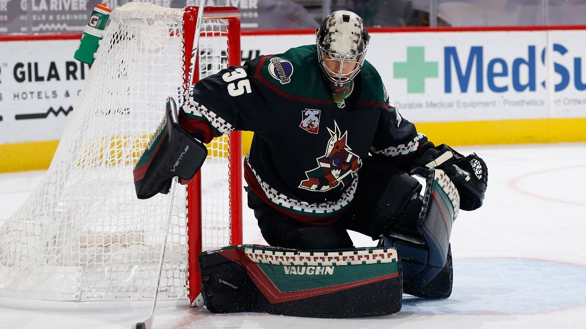 Wild vs. Coyotes NHL Odds & Pick: Back Arizona With Darcy Kuemper in Net (Monday, April 19) article feature image