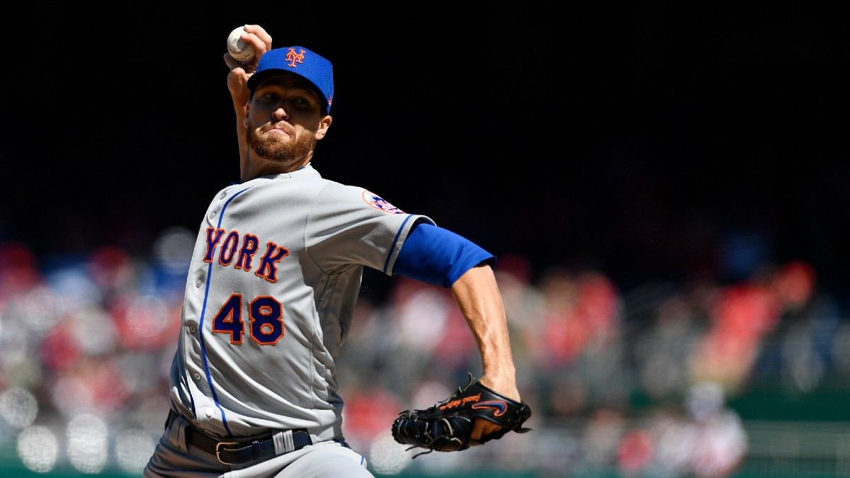 Friday MLB Pitcher Strikeout Props: An Over & Under to Bet for Jacob deGrom & Cole Irvin (April 23) article feature image