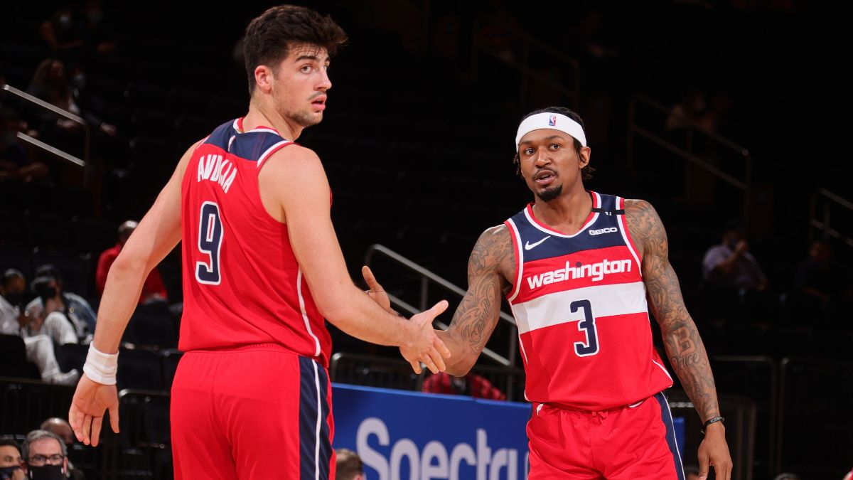 NBA Betting Odds & Picks: Our Staff's Best Bets for Pistons vs. Wizards, Cavaliers vs. Bulls (Saturday, April 17) article feature image