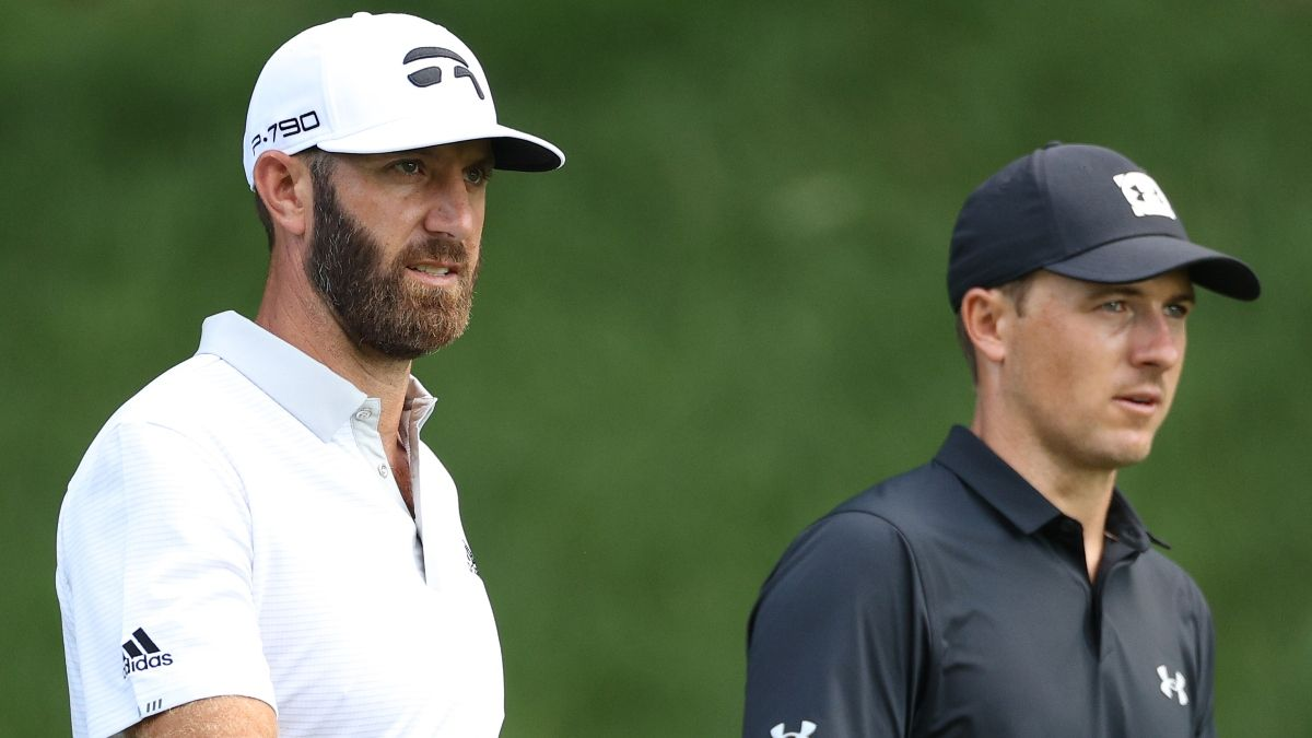 Masters 2021 Betting Odds, Favorite: Dustin Johnson Tops the Board With Justin Thomas, Bryson DeChambeau, Jordan Spieth Behind article feature image