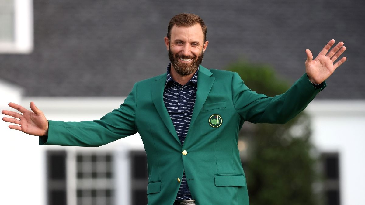 The Masters Odds, Promos: Bet $1, Win $100 if Dustin Johnson Makes the Top 10! article feature image