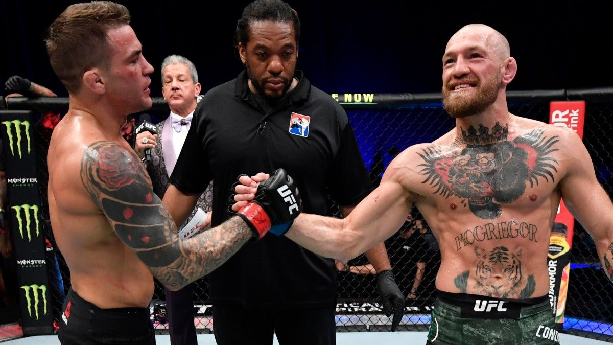 Dustin Poirier vs Conor McGregor 3 Opening Odds: Betting Lines Much Closer in Trilogy Fight article feature image