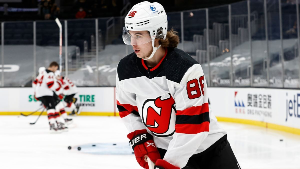 NHL Odds & Pick for Capitals vs. Devils: New Jersey is Due To Beat Washington (Sunday, April 4) article feature image