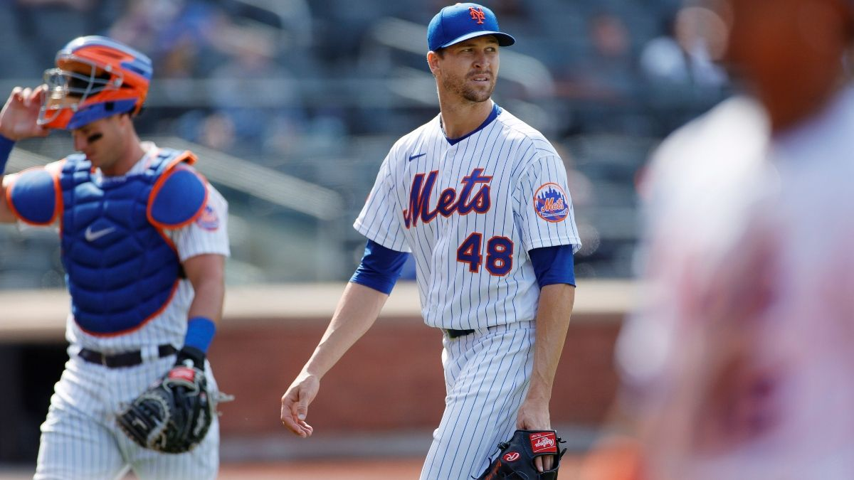 Nationals vs. Mets MLB Odds & Picks: Back Jacob deGrom to Have Rare Run Support (Friday, April 23) article feature image