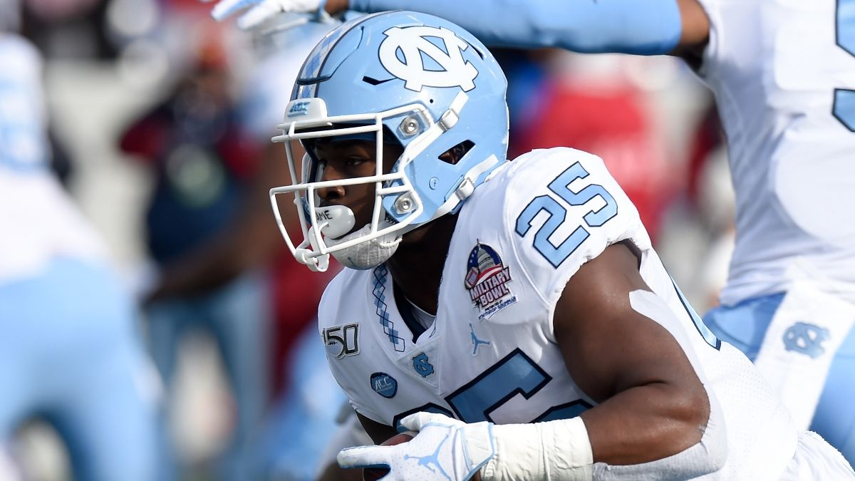 Javonte Williams Dynasty Fantasy Outlook & NFL Draft Props To Bet article feature image