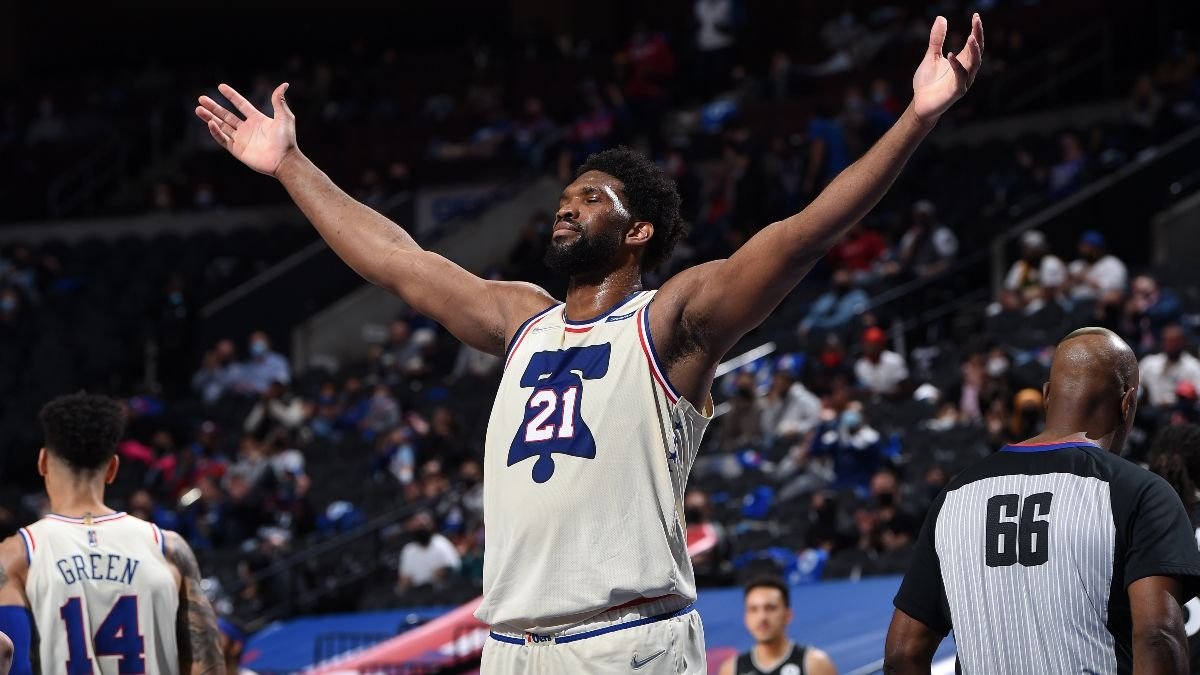 76ers Playoffs Promo: Bet $20, Win $200 if Joel Embiid Scores a Point! article feature image