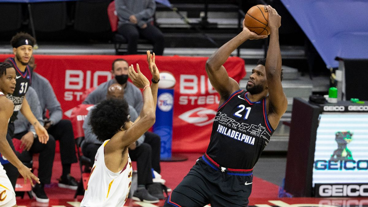 Sixers vs. Hawks Odds, Promo: Bet $20, Win $200 if Joel Embiid Scores article feature image