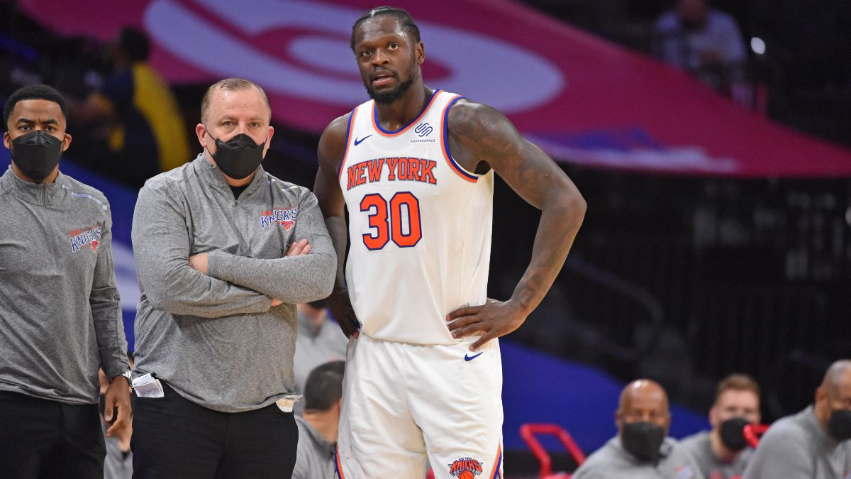NBA Betting Odds & Picks: Best Bets for Knicks vs. Pistons, Timberwolves vs. 76ers & More (Saturday, April 3) article feature image