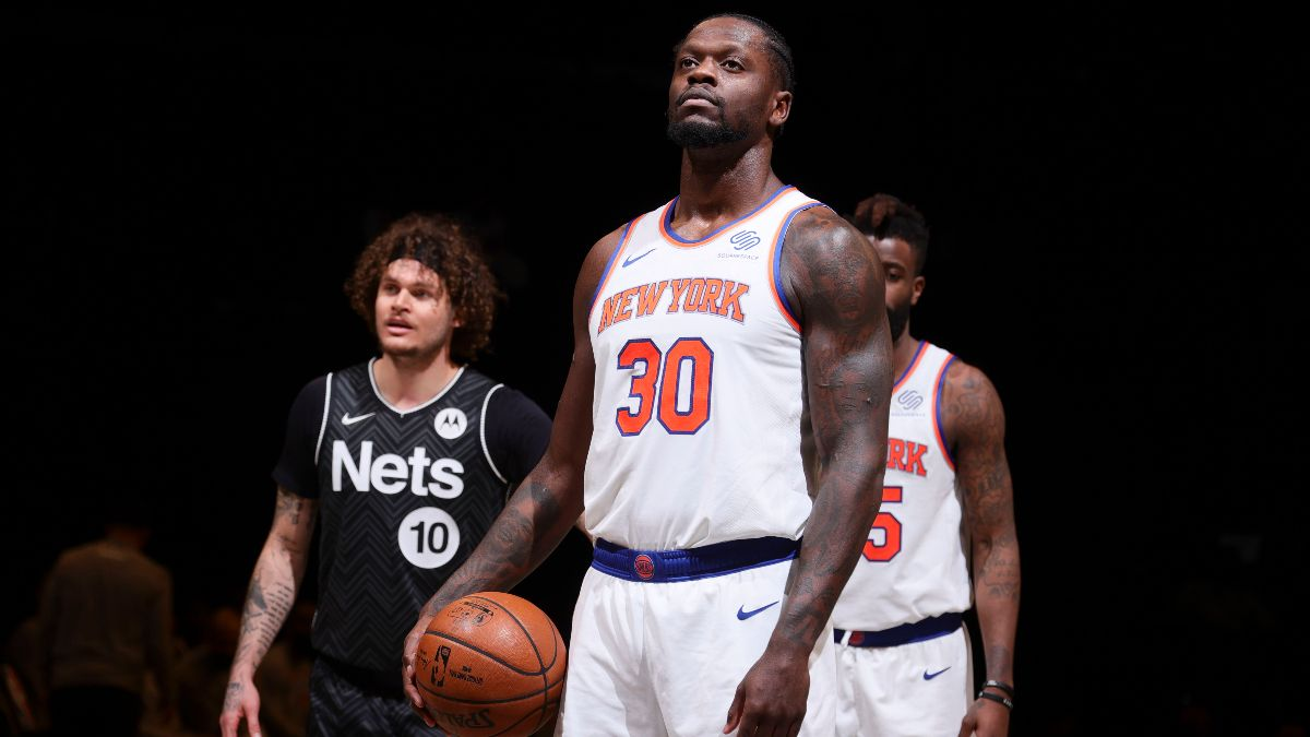 NBA Betting Odds & Picks: Our Staff's Best Bets for Pistons vs. Thunder, Knicks vs. Nets (Monday, April, 5) article feature image