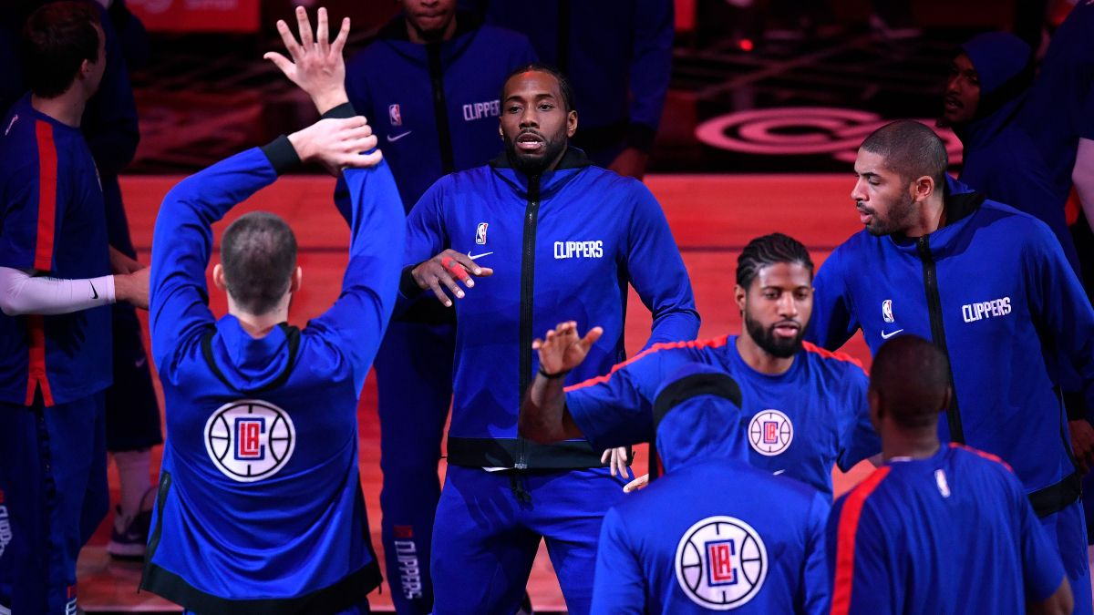 NBA Playoff Odds: The Los Angeles Clippers' 2021 Title Chances article feature image