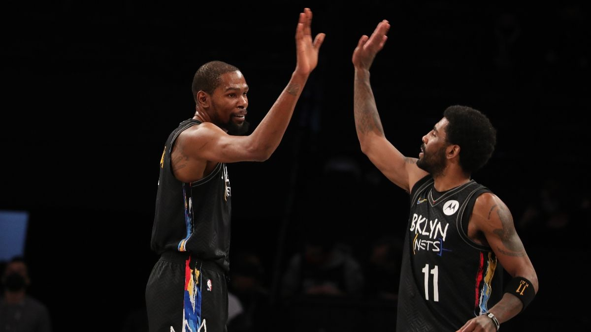 Nets vs. Heat NBA Odds & Picks: Back Durant & Irving Against Miami (Sunday, April 18) article feature image