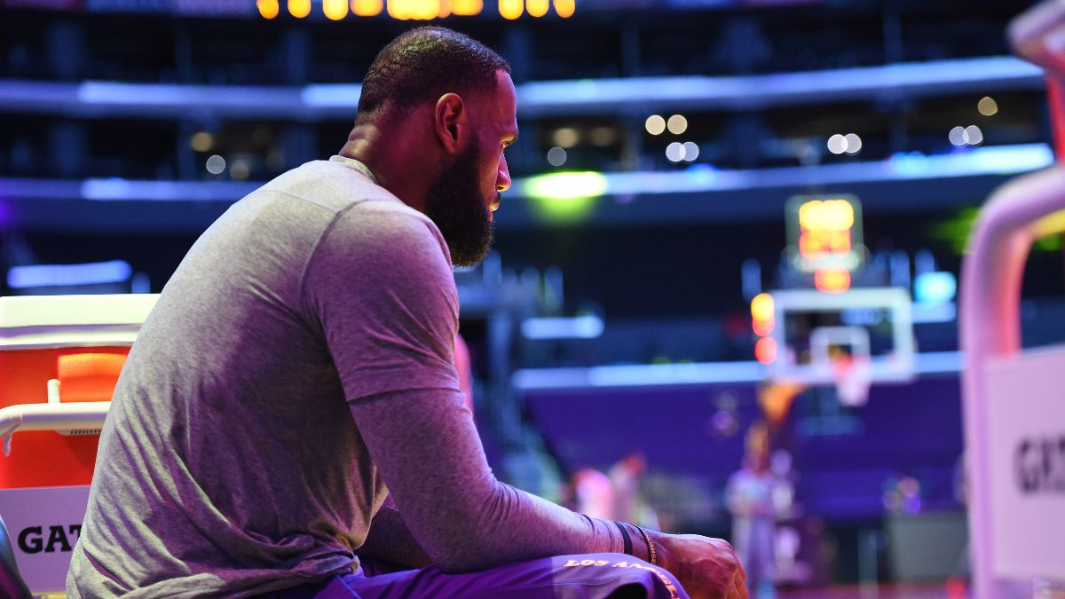 NBA Injury News & Starting Lineups (May 11): LeBron James Ruled Out Tuesday, Could Play Wednesday article feature image