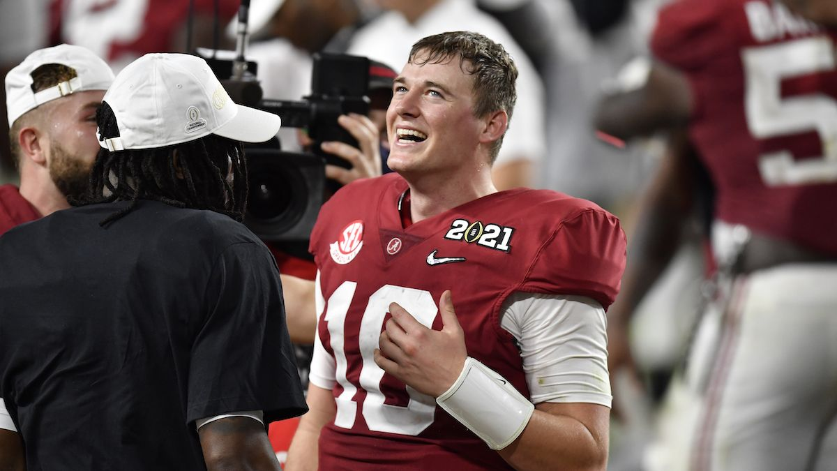 2021 NFL Draft Betting: Mac Jones Favored Over Justin Fields Once Again For No. 3 Pick article feature image