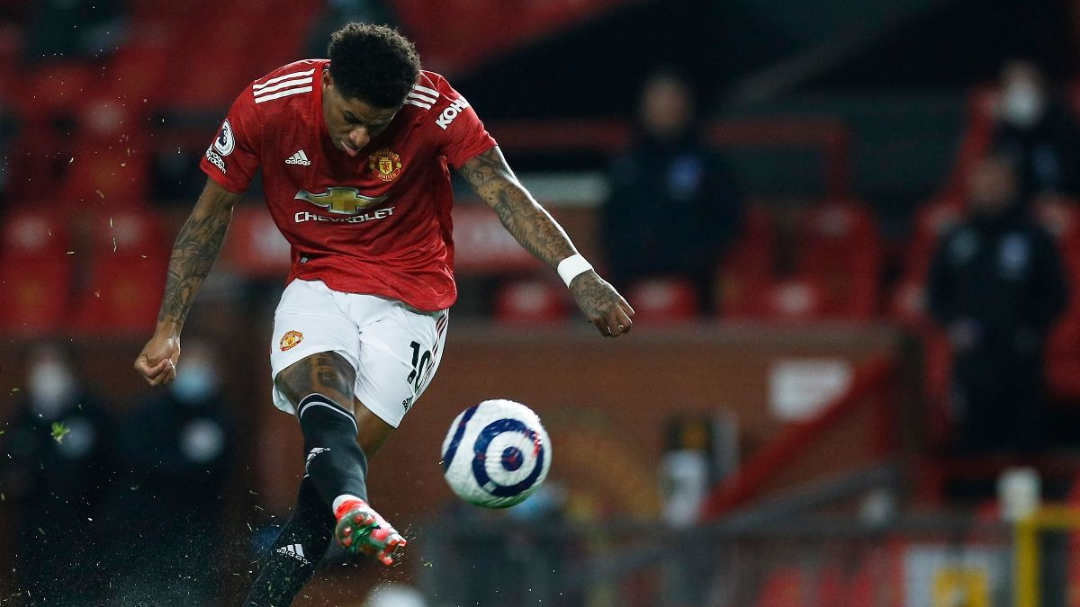 Manchester United Odds, Promo: Bet $20, Win $150 if United Shoots the Ball vs. Liverpool! article feature image