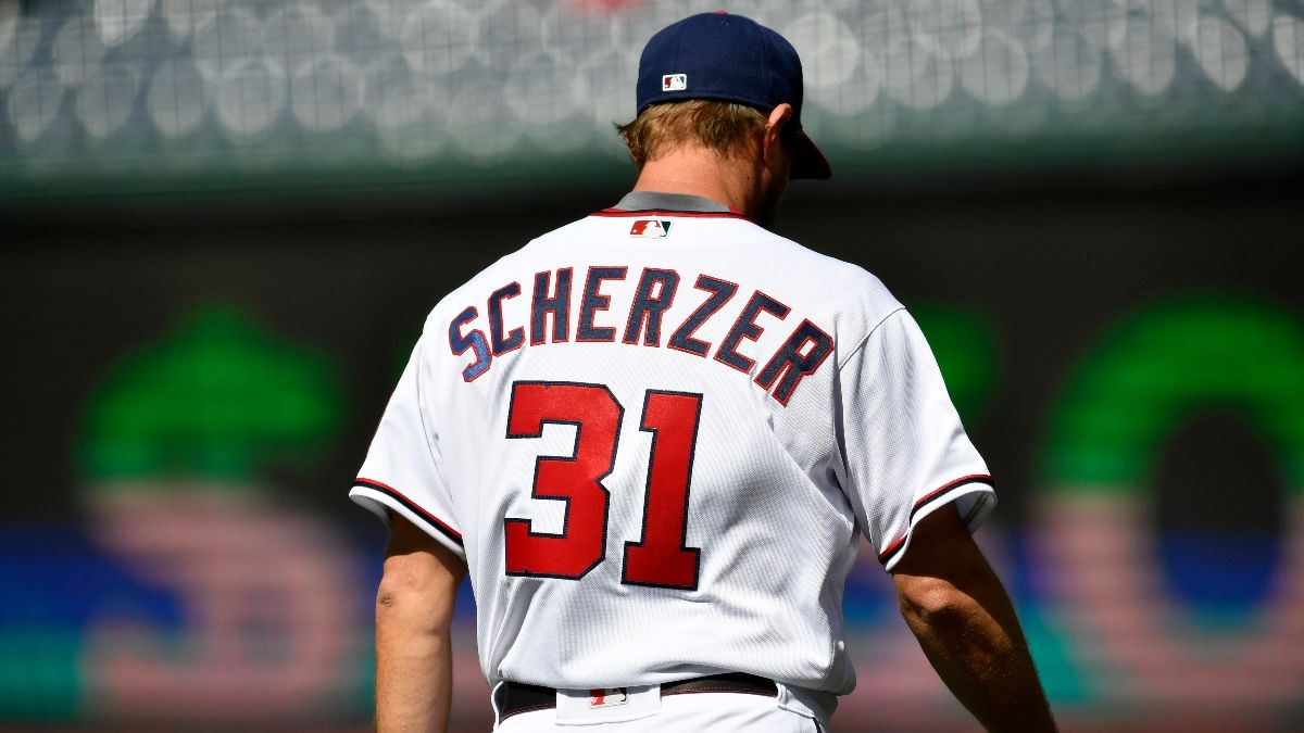 MLB Odds & Picks for Nationals vs. Blue Jays: Max Scherzer Can Quiet Toronto's Offense (Tuesday, April 27) article feature image