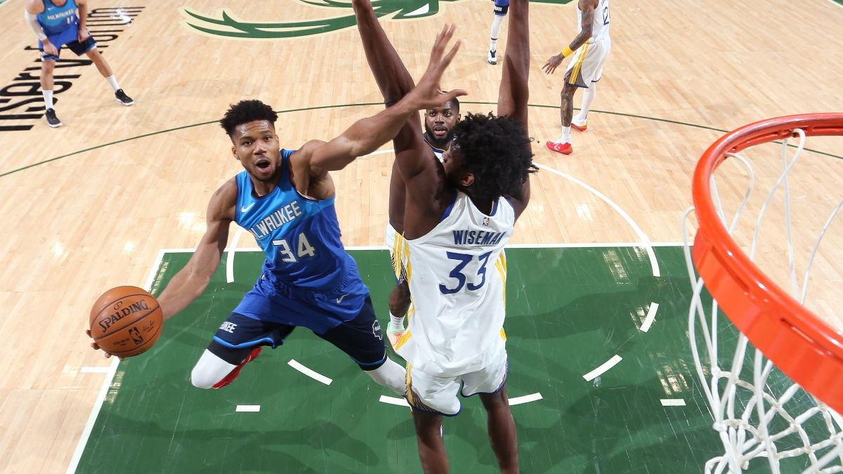Bucks vs. Warriors NBA Odds & Picks: Bet This Tuesday Over (April 6) article feature image