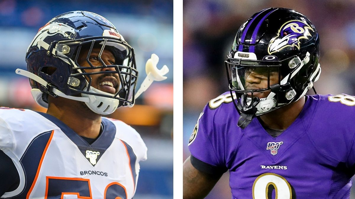 NFL Win Totals To Bet Right Now: Broncos Over, Ravens Under, More article feature image