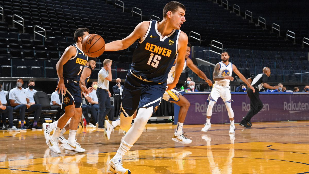 NBA Betting Odds & Picks: Best Bets For Kings vs. Pelicans, Nuggets vs. Warriors (Monday, April 12) article feature image