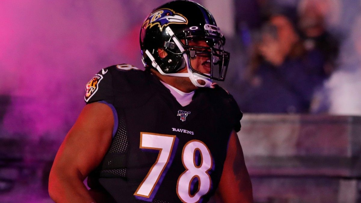 Chiefs Acquire Orlando Brown From Ravens for Multiple Picks Ahead of NFL Draft article feature image