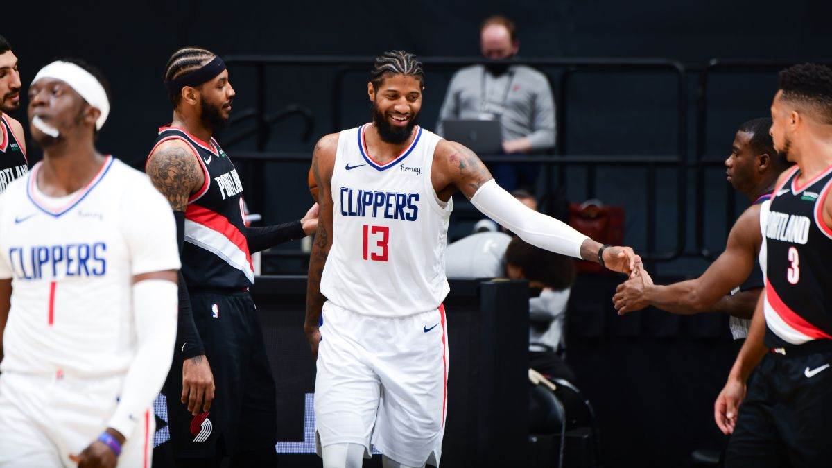 NBA Odds, Pick, Prediction for Clippers vs. Trail Blazers: L.A. Has Star Power Edge With Damian Lillard Out Tuesday (April 20) article feature image