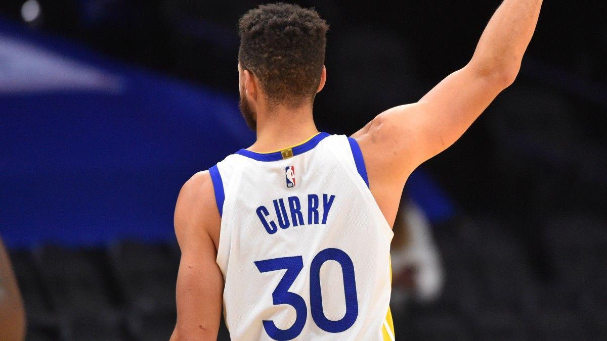 Steph Curry Closes NBA MVP Odds Gap on Betting Favorite Nikola Jokić article feature image