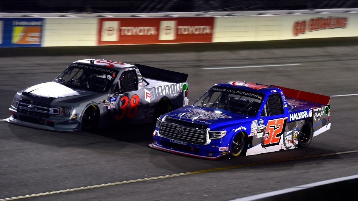 NASCAR Camping World Truck Series at Richmond Odds, Picks: The Driver Matchup To Bet for Saturday's Toyota Care 250 article feature image