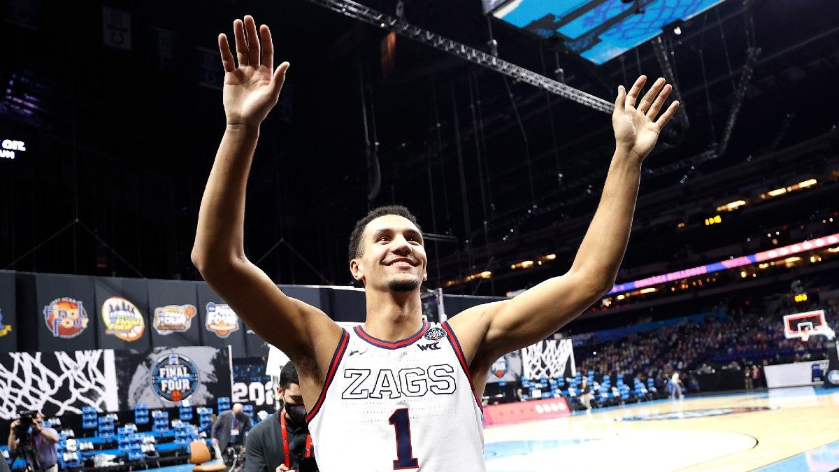 2021 NBA Draft Odds & Picks: The Case for Betting Jalen Suggs To Go No. 1 Overall article feature image