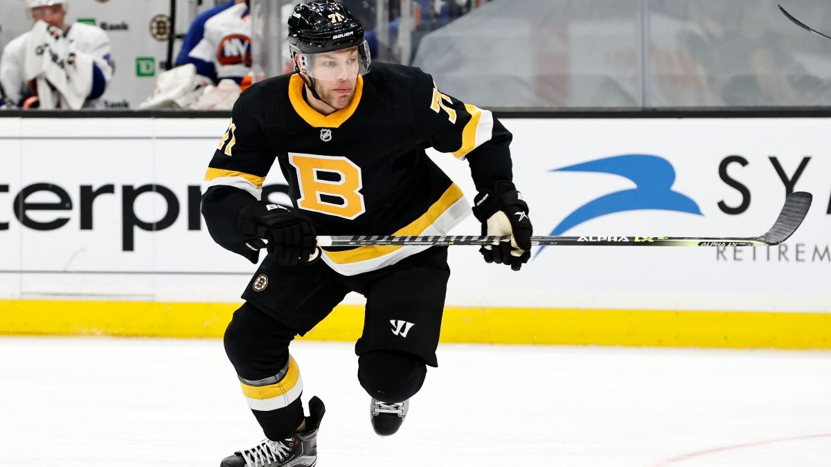 Sunday NHL Odds, Picks, Predictions for Bruins vs. Penguins: Back Boston in Matchup of Stanley Cup Contenders (April 25) article feature image
