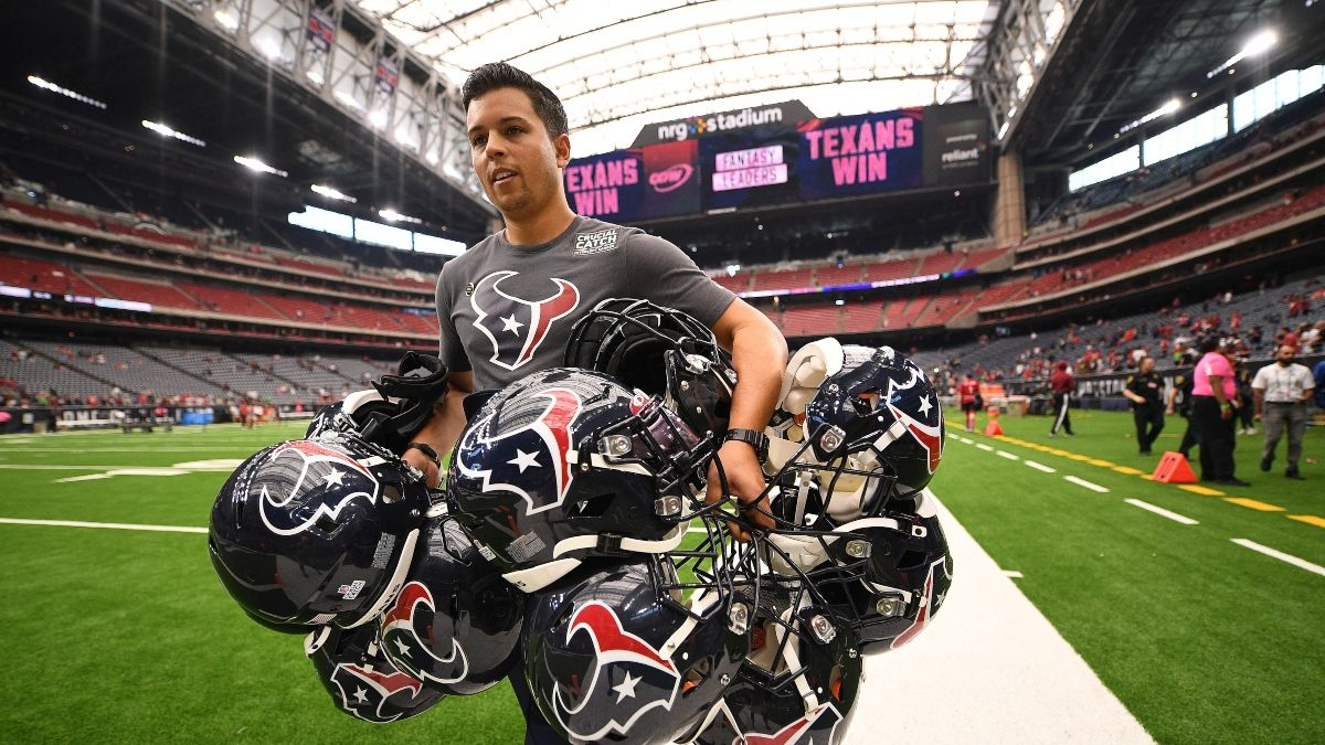 Houston Texans NFL Draft Odds, Picks & Team Needs article feature image