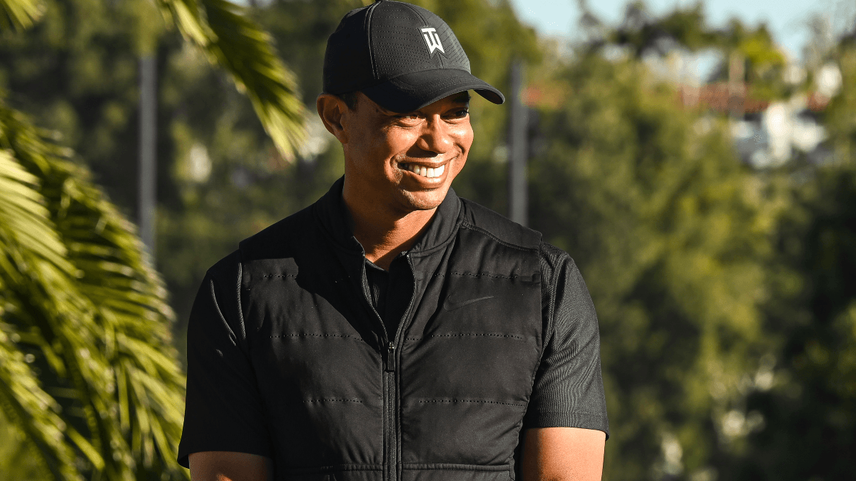 2022 Masters Odds: Tiger Woods on the Board, Dustin Johnson Among Favorites article feature image