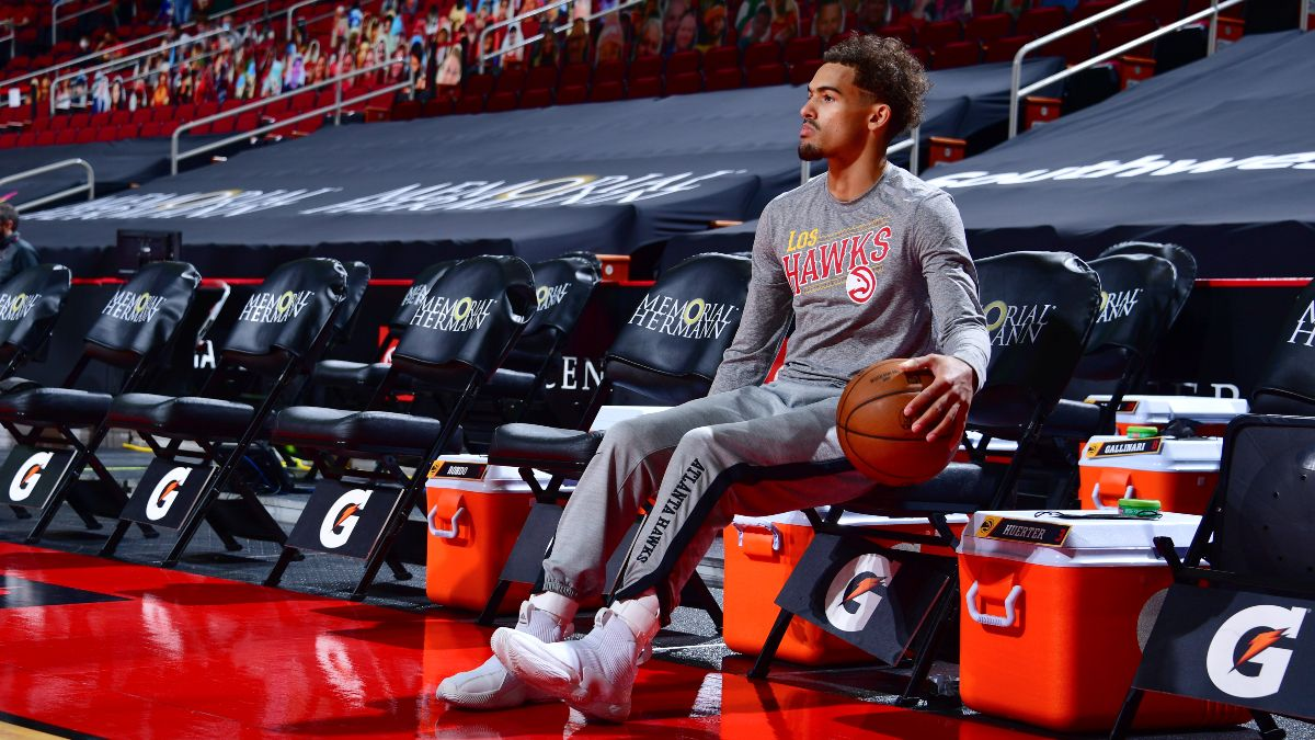 NBA Injury News & Starting Lineups (April 13): Trae Young, Terry Rozier Ruled Out Tuesday article feature image