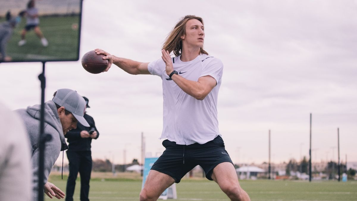 NFL Draft Odds, Promo: Bet $5, Win $100 if Trevor Lawrence Gets Drafted First! article feature image