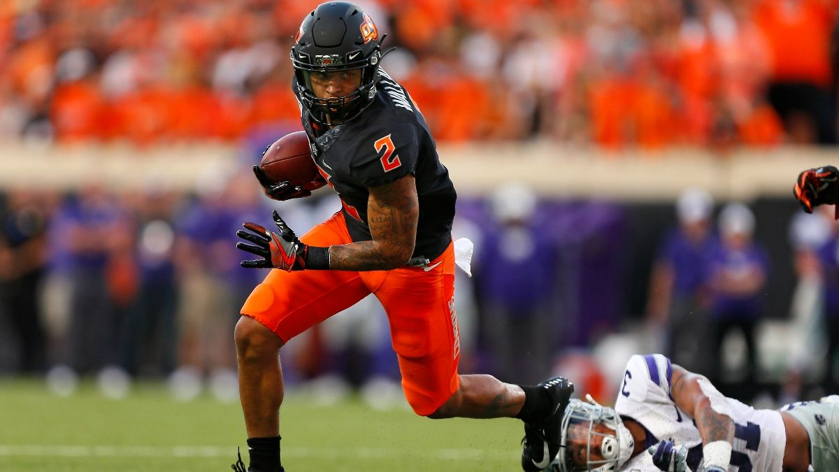 Tylan Wallace Dynasty Fantasy Outlook, NFL Draft Profile & Prop Bets article feature image