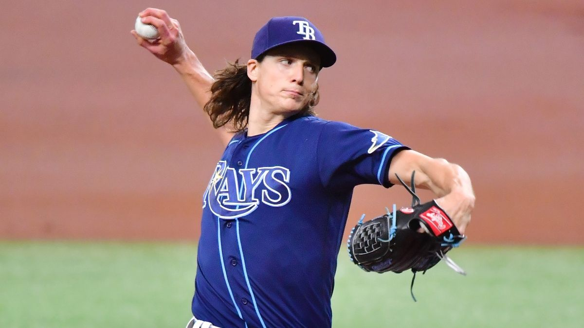 Athletics vs. Rays MLB Odds & Picks: Is the Total Too Low, Even With Tyler Glasnow Starting? (Wednesday, April 28) article feature image