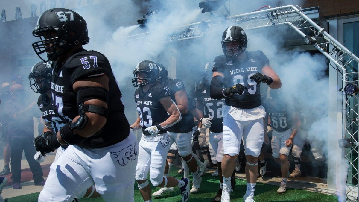 College Football FCS Playoffs Betting Odds & Pick for Weber State vs. Southern Illinois article feature image