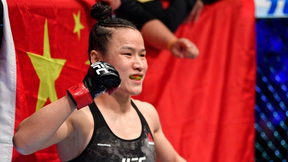 Zhang Weili vs. Rose Namajunas UFC 261 Betting Odds, Pick & Prediction (Saturday, April 24) article feature image