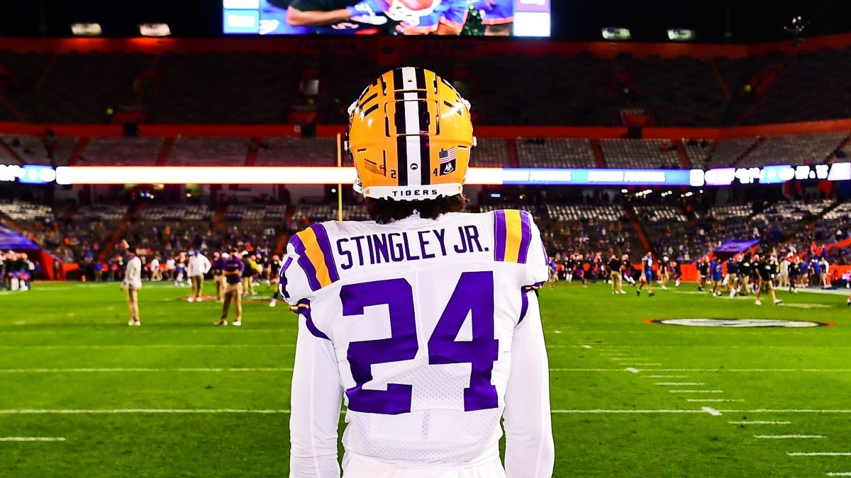How CB Derek Stingley Jr.'s Absence Affects LSU-Mississippi Betting Odds In Week 4 article feature image