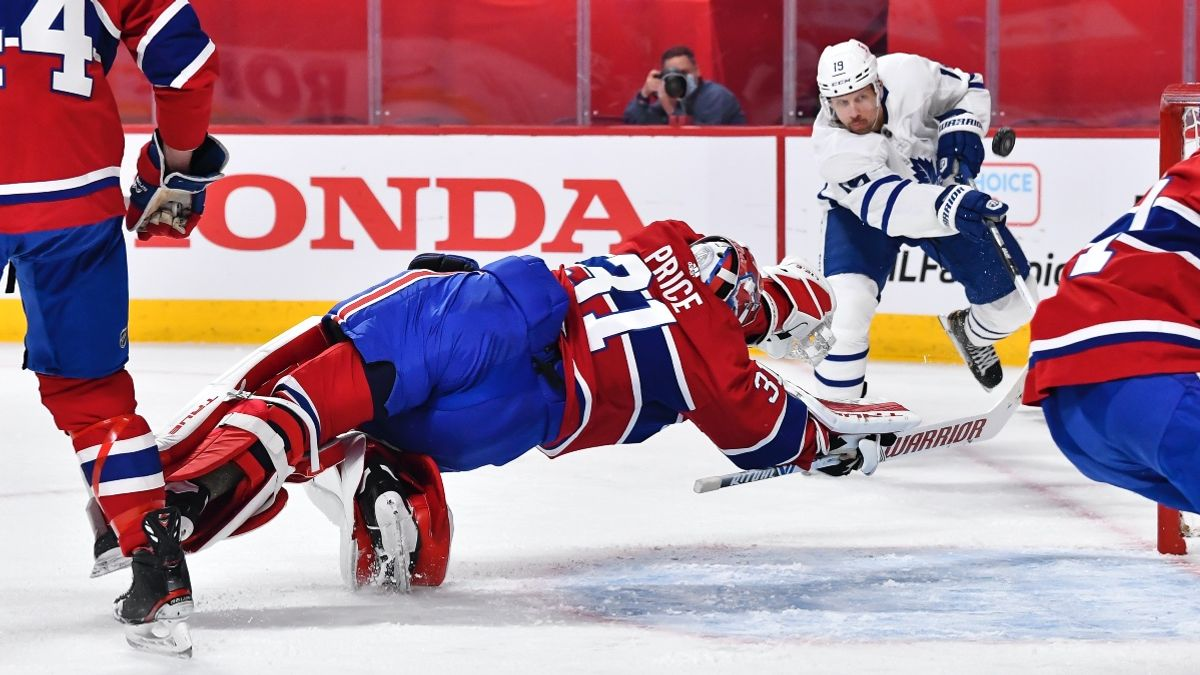 Tuesday NHL Playoffs Maple Leafs vs. Canadiens Game 4 Odds, Pick, Preview: Back Underdog Montreal Against Powerful Toronto (May 25) article feature image