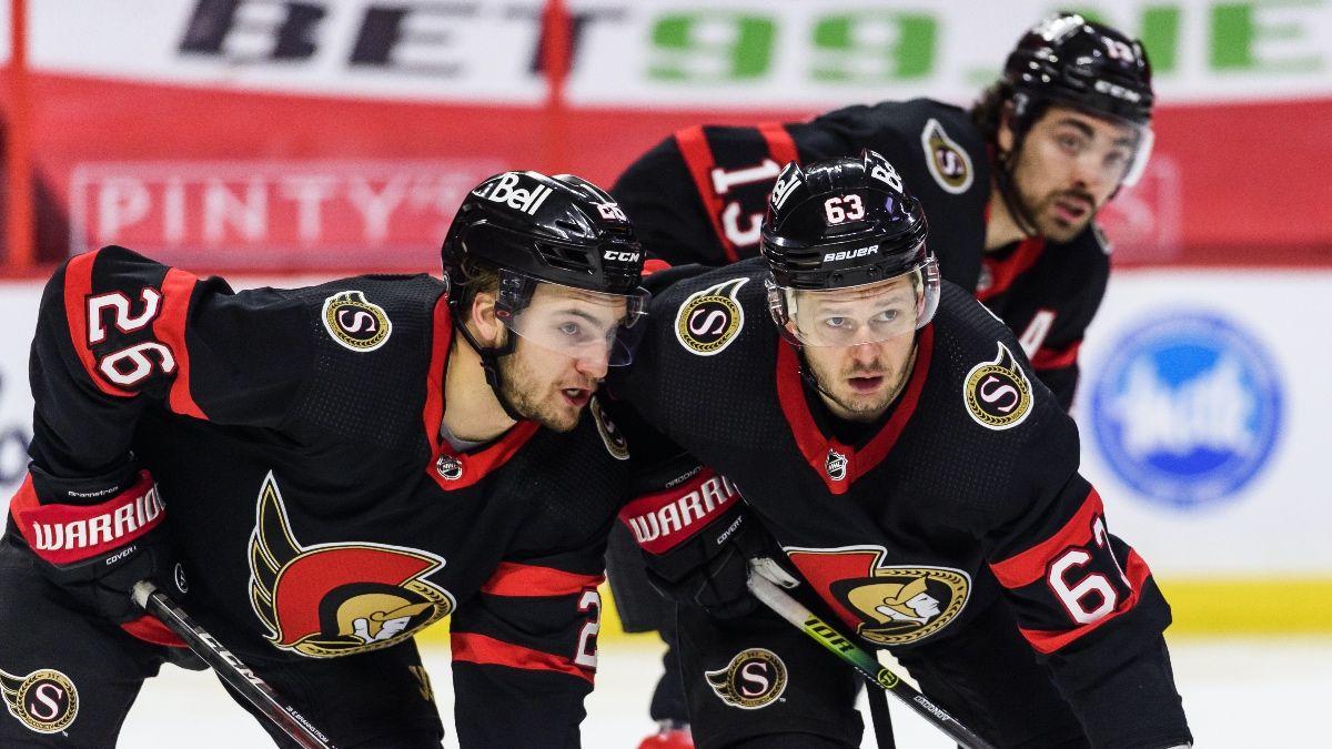 Saturday NHL Odds & Picks: 4 Best Bets for Senators vs. Jets, Predators vs. Hurricanes & More article feature image