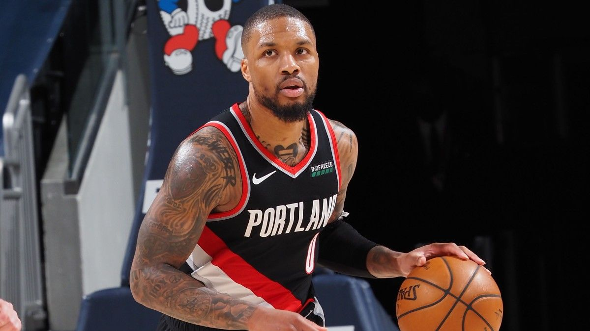 Trail Blazers vs. Nuggets Odds, Game 1 Preview, Prediction: Damian Lillard Looks to Outshine Nikola Jokic (May 22) article feature image