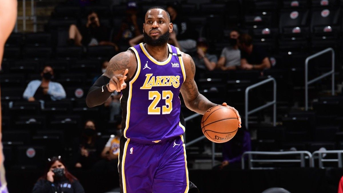 NBA Odds, Preview, Prediction for Lakers vs. Suns Game 2: How Does LeBron, Los Angeles Respond to 0-1 Hole? (May 25) article feature image