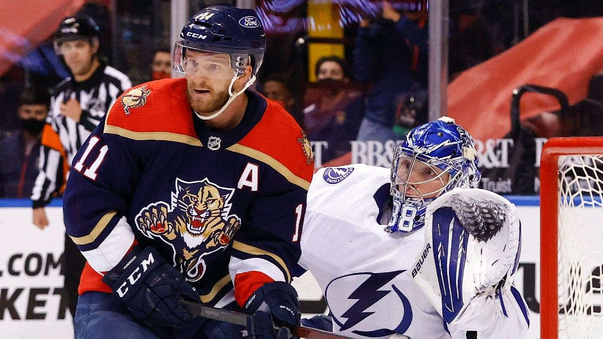 Lightning vs. Panthers Game 1 Odds & Betting Preview: Florida Teams Start First-Round Series (May 16) article feature image