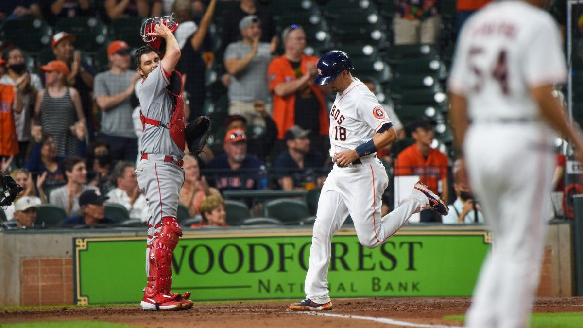 Wednesday MLB Odds, Picks, Prediction: Angels vs. Astros Betting Preview (May 12) article feature image