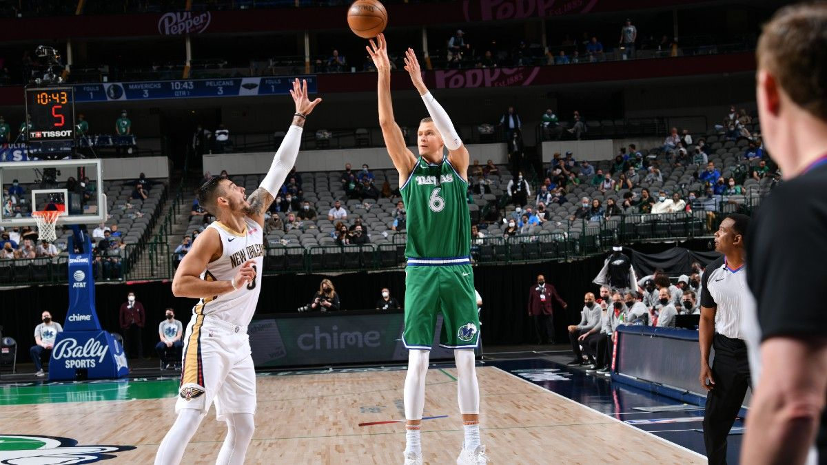 NBA Playoffs Player Prop Bets, Picks: 3 Plays for Tuesday's Games, Including LeBron James & Kristaps Porzingis (May 25) article feature image