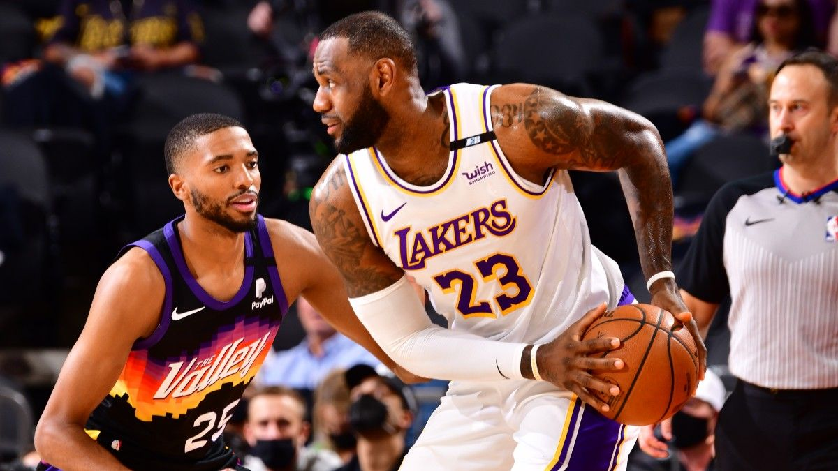 Why the Los Angeles Lakers Opened as Favorites in Game 2 Despite Losing Game 1 as Underdogs to Phoenix Suns article feature image