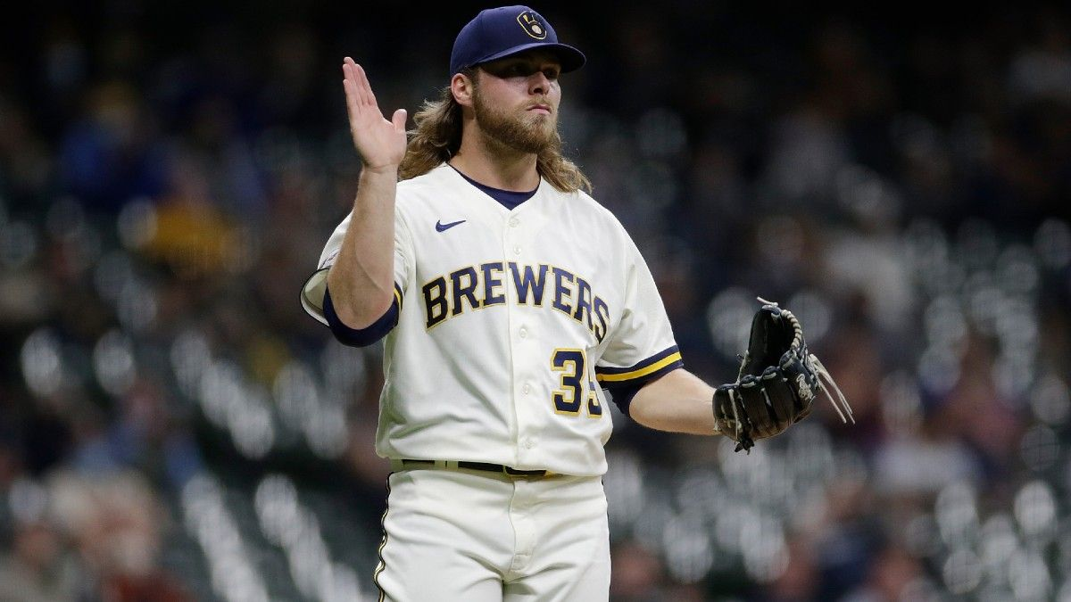 MLB Pitcher Props for Tuesday: Should You Fade Aces Max Scherzer & Corbin Burnes? (May 25) article feature image