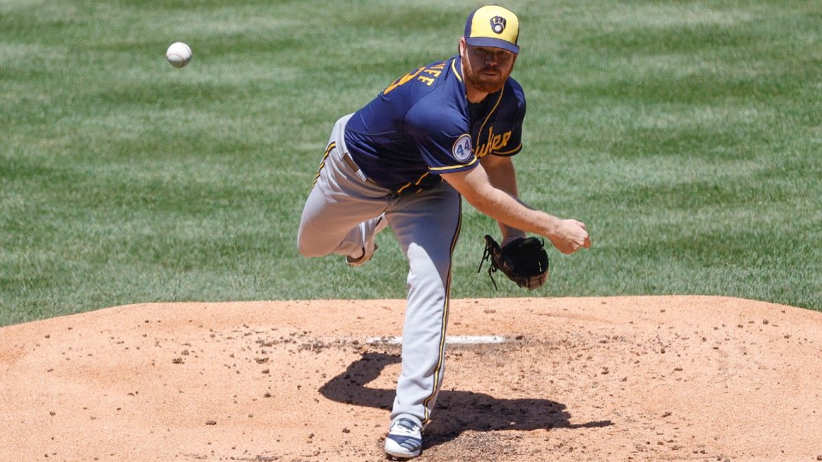 MLB Player Prop Bets & Picks: Wednesday Strikeout Totals With Max Fried & Brandon Woodruff (May 12) article feature image